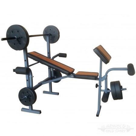Robust Fitt súlyzóspad súlykészlettel