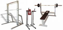 Arnold Gold Master Free-weight gym machines & Benches