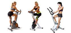 Ülő szoba és edzőkerékpárok