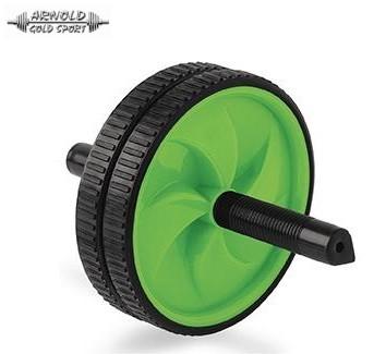 Hasizom erősítő roller dupla kerekes