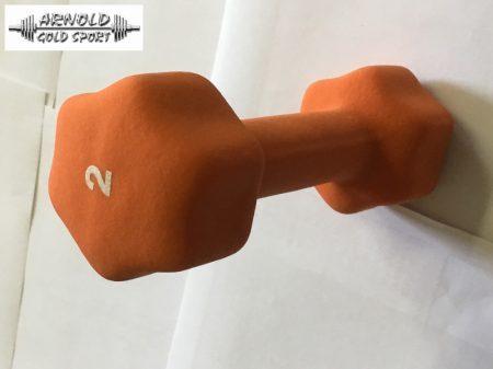 Neoprén kézisúlyzópár 2kg A