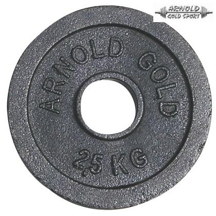 Öntöttvas súlyzótárcsa Ø50 mm
